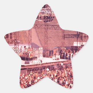 Summer Blowout 1980 Star Sticker