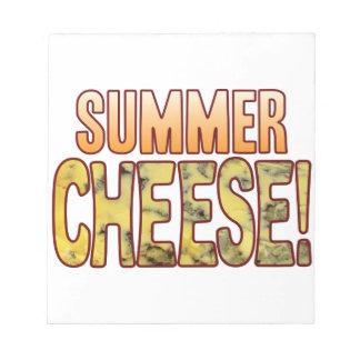 Summer Blue Cheese Notepad