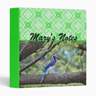 Summer Blue Jay Binder