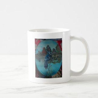 summer bluejay coffee mug