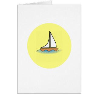 summer boat boating sport fish fishing water wave card
