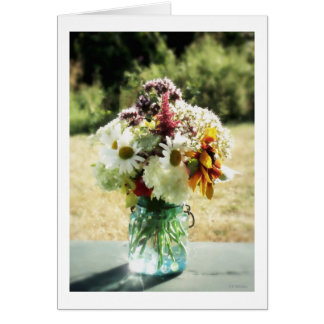 Summer Bouquet Card
