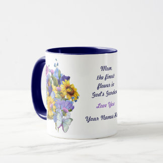 Summer Bouquet - Customize Mug