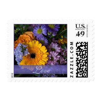Summer Bouquet • Love Stamp