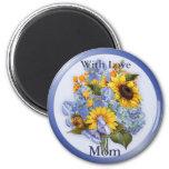 Summer Bouquet - Mom Fridge Magnet