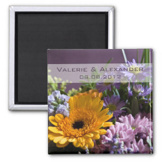 Summer Bouquet • Save the Date Magnet