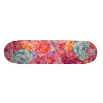 Summer bouquet skateboard deck