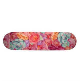Summer bouquet skateboard deck