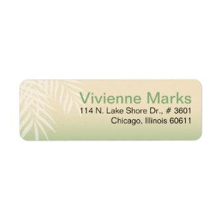 Summer Breeze Beach | jade Return Address Label