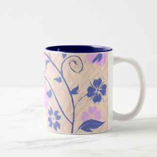 Summer Breeze Collection Pink Two-Tone Coffee Mug