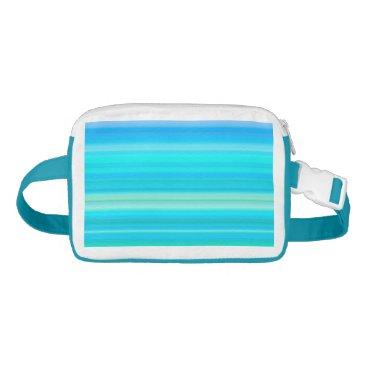 Beach Themed Summer Breeze Gradient Waist Bag