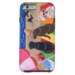 Summer Breeze Labradors Painting iPhone 6 Case