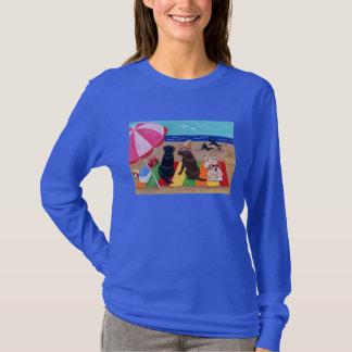 Summer Breeze Labradors Painting T-Shirt
