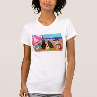 Summer Breeze Labradors Painting Tshirts