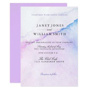 Beach Themed Summer Breeze Wedding invitations
