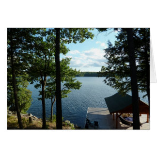 Summer Breezes Photography Card