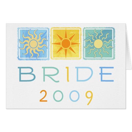 Summer Bride 2009 Greeting Card