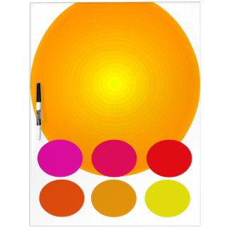 Summer Brights Noteboard Colorful CricketDiane Dry-Erase Board