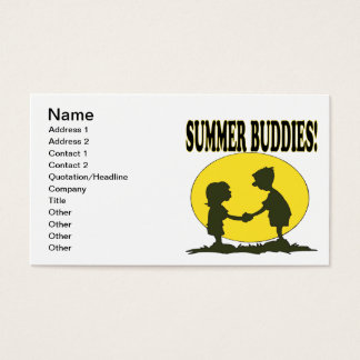 Summer Buddies Business Card
