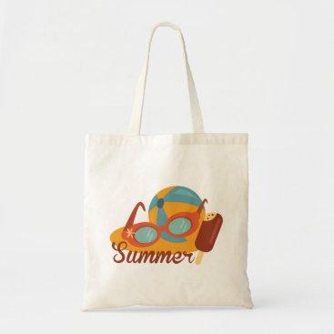 Beach Themed Summer Budget Beach Tote