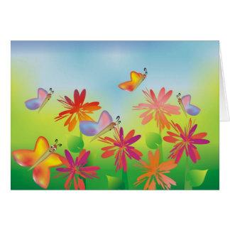 Summer Butterflies Card
