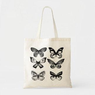 Summer butterflies wedding edition tote bag