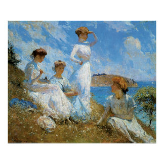 Summer, by Frank W. Benson Poster