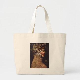 Summer by Giuseppe Arcimboldo Jumbo Tote Bag