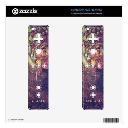 summer by Giuseppe Arcimboldo Decal For Wii Remote