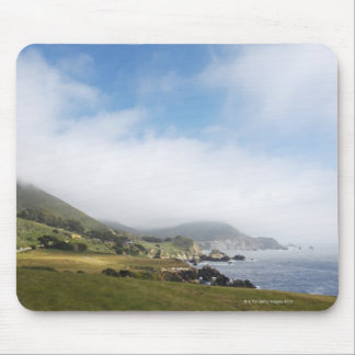 Summer california road trip on highway 1 along mouse pad