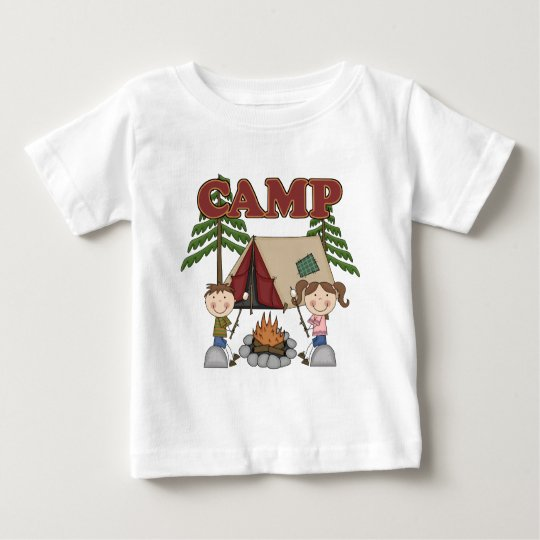 Summer Camp Baby T-Shirt