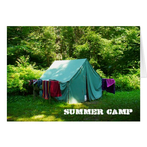 Summer Camp Card