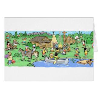 Summer Camp Card 3