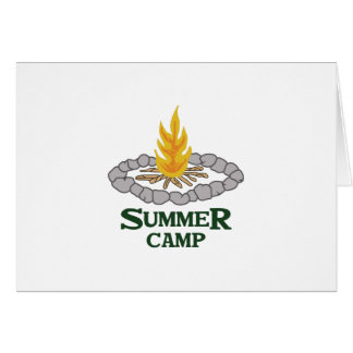SUMMER CAMP GREETING CARD