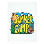 Summer Camp Invitation