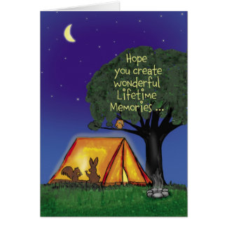Summer Camp - Miss you - Greeting Card