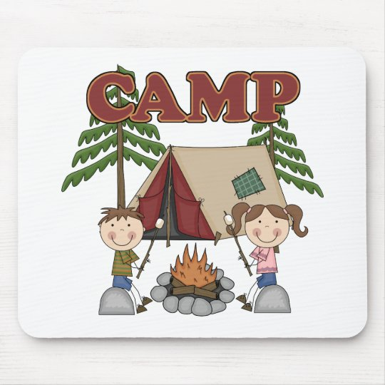 Summer Camp Mouse Pad