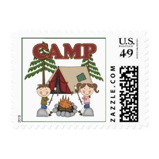 Summer Camp Stamps