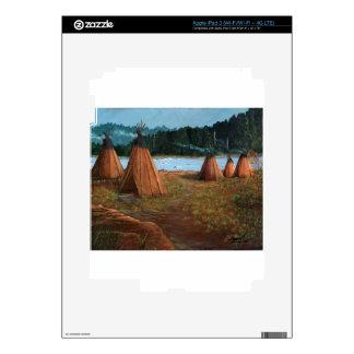 Summer Camp Skin For iPad 3