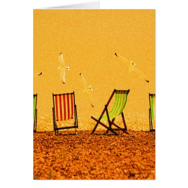 Beach Themed Summer Card