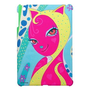 Beach Themed Summer Cat GIRAKO iPad Mini Cases