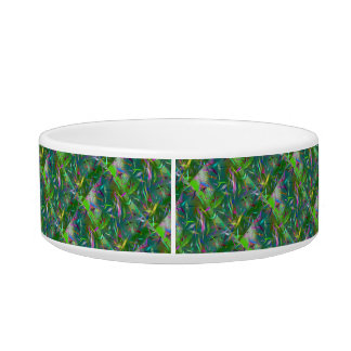 Summer Celebration Abstract Bowl