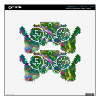 Summer Celebration Abstract Sony PlayStation 3 PS3 Controller Skin