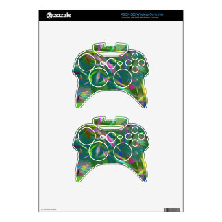 Summer Celebration Abstract XBOX 360 Wireless Xbox 360 Controller Skins
