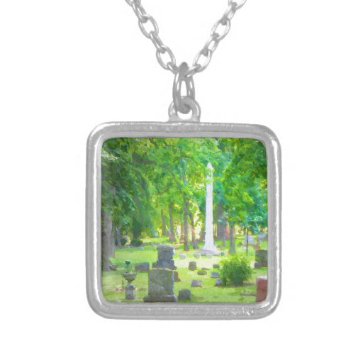 Summer Cemetery Necklace