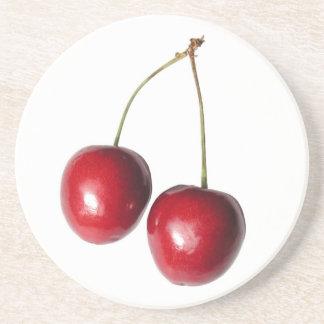 Summer Cherries Coasters