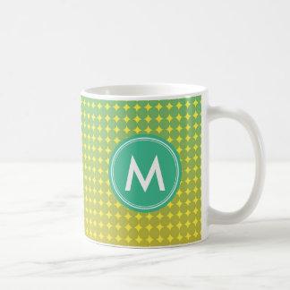 Summer Citrus Color Blend Personalize Monogram Coffee Mug