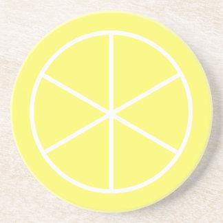 Summer Citrus Florida Lemon Coasters
