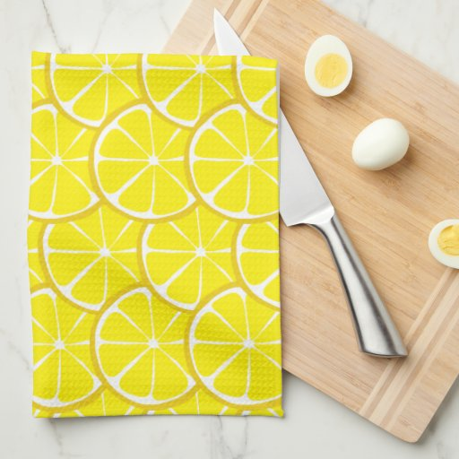 Summer Citrus Lemon Kitchen Towel