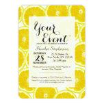 Summer Citrus Lemon Slices Card